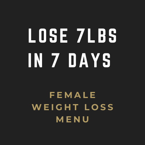 LOSE 7LBS IN 7 DAYS