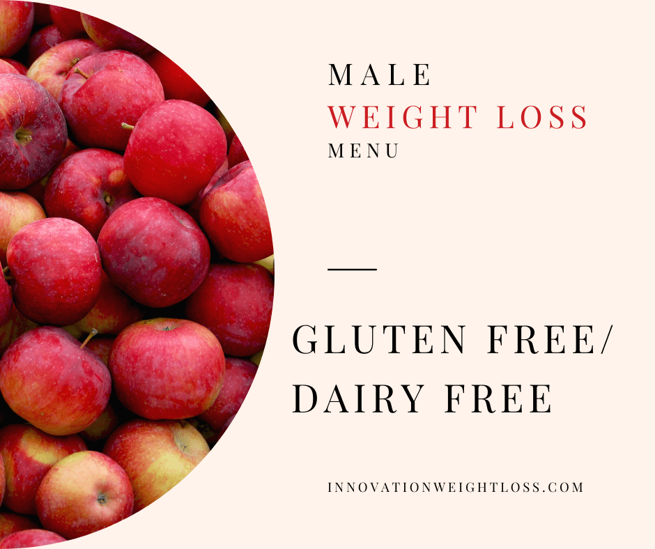 GLUTE FREE / DAIRY FREE WEIGHT LOSS MENU